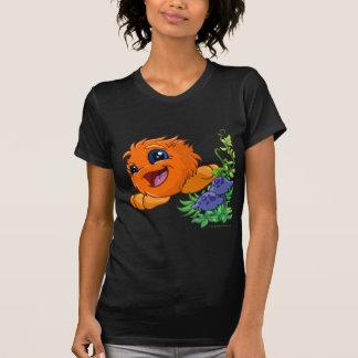 JubJub anaranjado feliz en la central de Neopia Camisetas
