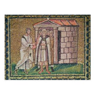 Judas se arrepiente, las escenas a partir de la postal