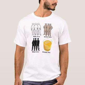 Judíos anaranjados camiseta