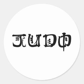 Judo Pegatinas