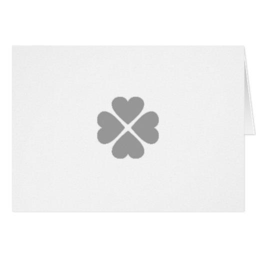 Juega a las cartas invitación kleeblatt enamorado  tarjetas