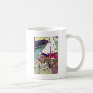 Juego acuático taza de café
