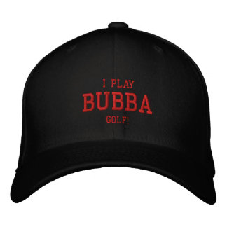 ¡Juego al golf de Bubba! Gorra bordado Gorra De Beisbol