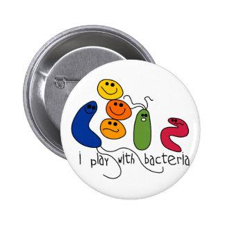 Juego con las bacterias pins