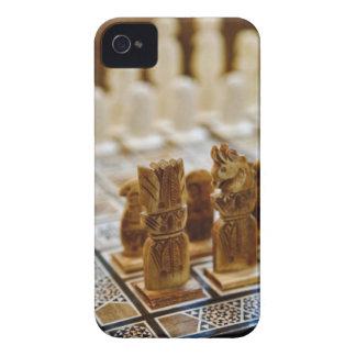 Juego de ajedrez para la venta, bazar del EL Khali Case-Mate iPhone 4 Protector