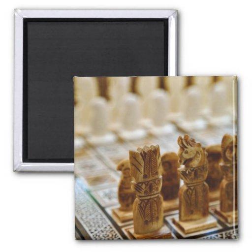 Juego de ajedrez para la venta, bazar del EL Khali Iman