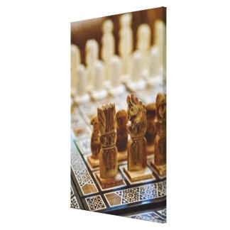 Juego de ajedrez para la venta, bazar del EL Lona Estirada Galerías