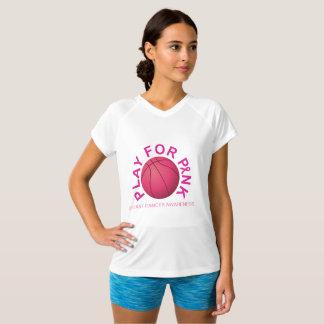 Juego de baloncesto para la camisa de la