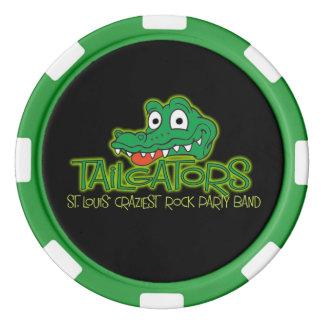 Juego De Fichas De Póquer Ficha de póker de Tailgators