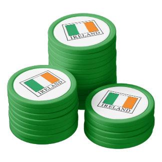 Juego De Fichas De Póquer Irlanda