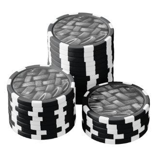 Juego De Fichas De Póquer Modelo de los neumáticos de coche