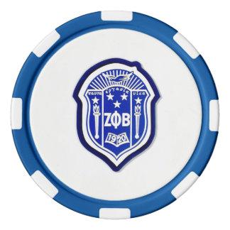 Juego De Fichas De Póquer ¡Phi de la zeta beta - motive, inspire, y anime!