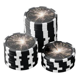 Juego De Fichas De Póquer Sparkler