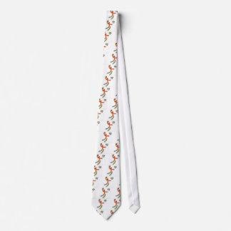 Juego de la línea arte de la bola de la cesta corbata