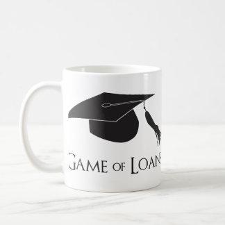 Juego de los préstamos de la graduación de la univ