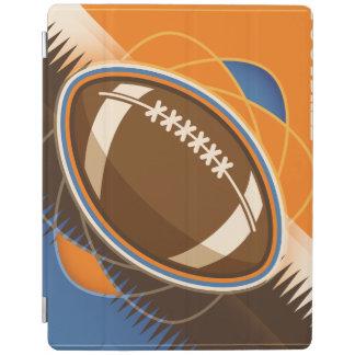 Juego de pelota del deporte del fútbol americano cover de iPad
