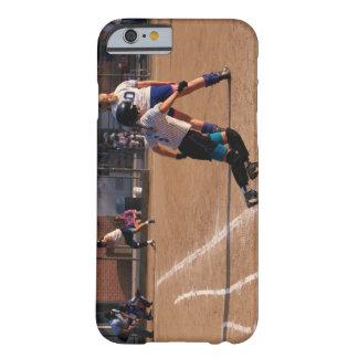 Juego de softball funda para iPhone 6 barely there