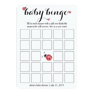 Juego de tarjeta del bingo de la fiesta de invitación 12,7 x 17,8 cm