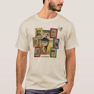 Juego de tarjeta extraño del Little Bighorn Camiseta