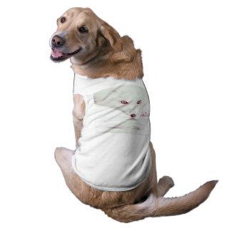 Juego del perrito de UrbnCape Foxit 3XL en blanco Camiseta Sin Mangas Para Perro