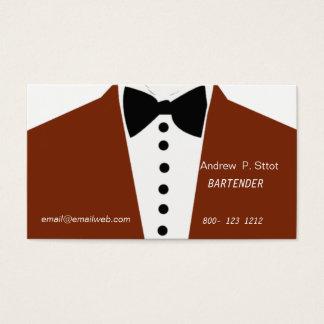 Juego elegante del boda del diseño del camarero tarjeta de negocios