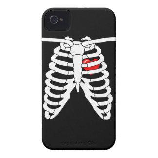 Juego en el caso del iPhone 4 del corazón iPhone 4 Carcasas