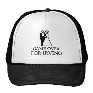 Juego encima para Irving Gorro