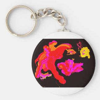 Juego Hybiscus 2 del arte los regalos de Zazzle de Llaveros Personalizados