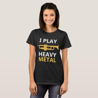 Juego la camiseta de metales pesados - jugador de