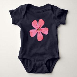 Juego rosado del cuerpo del bebé de la flor body para bebé