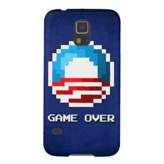 Juego sobre la caja del teléfono de Obama Funda Galaxy S5
