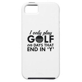 Juego solamente a golf funda para iPhone SE/5/5s