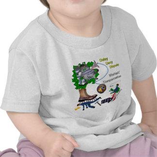 Juego tridimensional BabyTee de la remuneración de Camisetas