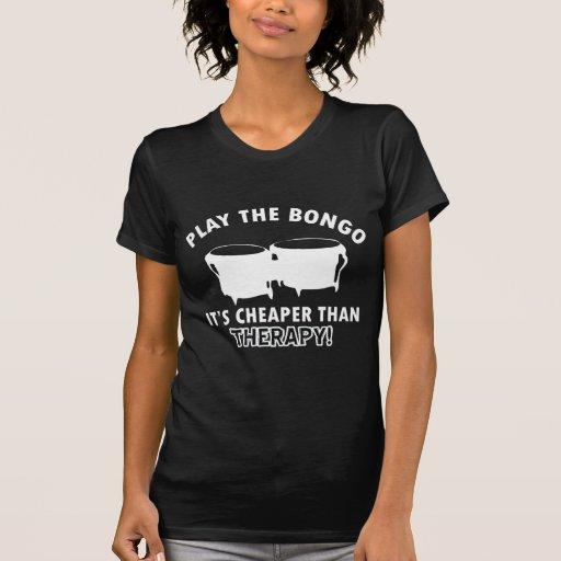 Juegue   el bongo camisetas