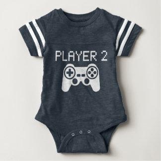 Jugador 2 (bebé) body para bebé
