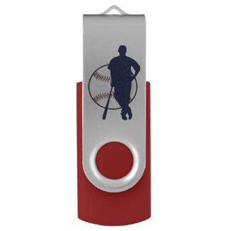 Jugador de béisbol personalizado memoria USB