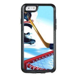 Jugador de hockey del equipo de los E.E.U.U. Funda Otterbox Para iPhone 6/6s