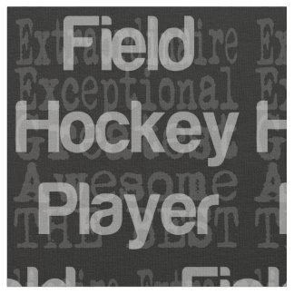 Jugador de hockey hierba Extraordinaire Telas