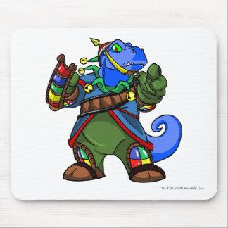 Jugador de la isla de Grarrl Roo Alfombrilla De Ratón