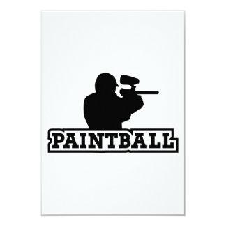 Jugador de Paintball Anuncio