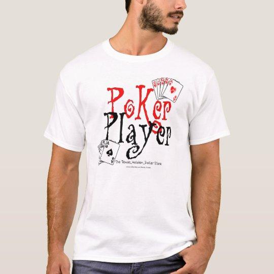 jugador de póker camiseta