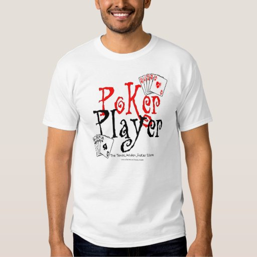 jugador de póker camisetas