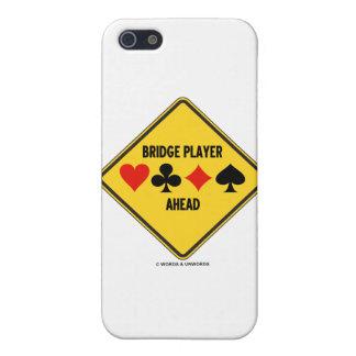 Jugador de puente a continuación (señal de peligro iPhone 5 coberturas