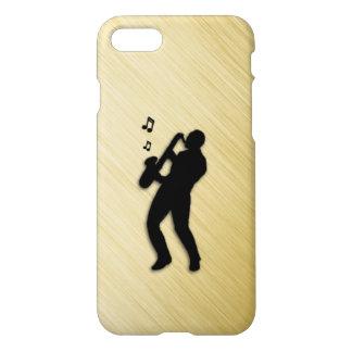 Jugador de saxofón funda para iPhone 7