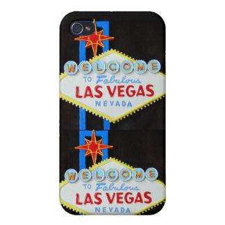 Jugador del casino de Las Vegas iPhone 4 Carcasas