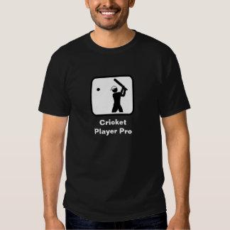 Jugador del grillo favorable (oscuro) camiseta