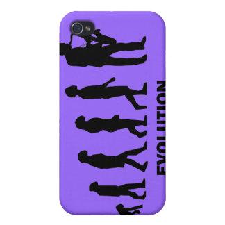 jugador del saxo de la evolución iPhone 4/4S carcasa