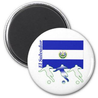 Jugadores de fútbol - El Salvador Imán De Frigorifico