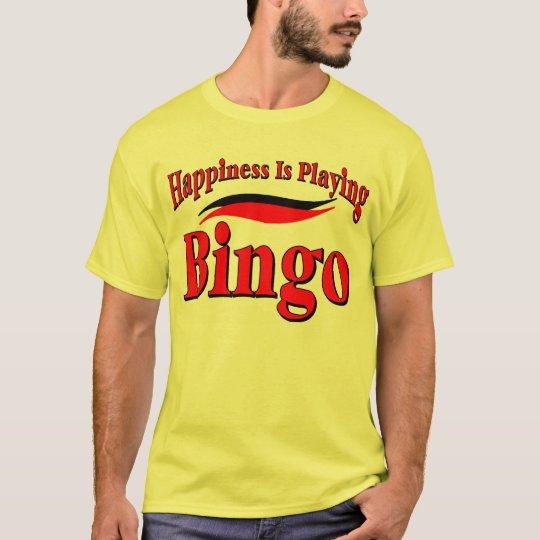 Jugar bingo camiseta