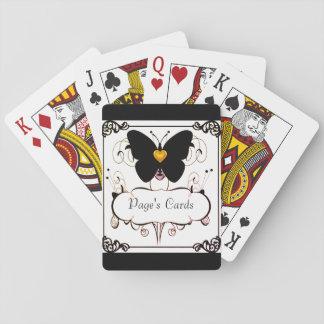 Jugar Cards-Template_Gold-Heart--Mariposa Baraja De Cartas